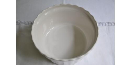 Plat à soufflé en céramique de Beauce