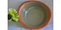 Légumier/saladier Sial Oval en vert céladon