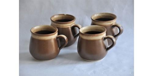Grandes tasses à café Sial CERVAL en grès
