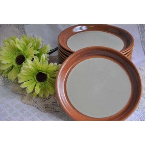 Sial Stoneware Salad Plates Sold Individually