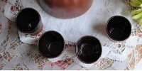 Service à sake en grès Sial service Oval