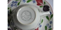Lot de tasses Adams Old Colonial vintage