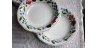 Rares bols à soupe Adams Old Colonial vintage