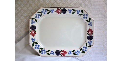 Adams Old Colonial Ironstone Serving Platter