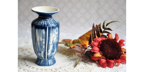 Vase danois années 50 signé Aksini