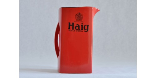 Red Haig Advertising  Carlton Ware Pitcher