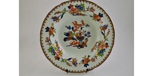 Antique Copeland & Garrett Royal Opal Earthenware Soup Plate