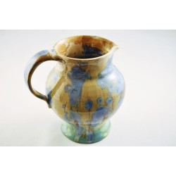Crystalline Glaze Studio Pottery Pitcher