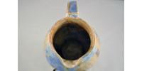 Pichet en porcelaine fait main à glaçure cristalline