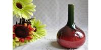 Rare petit vase Dublin Pottery Vodrey