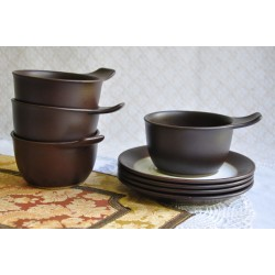 Figgjo Norway Oven Bowls with Underplates