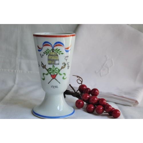 Verre à café en porcelaine de Limoges