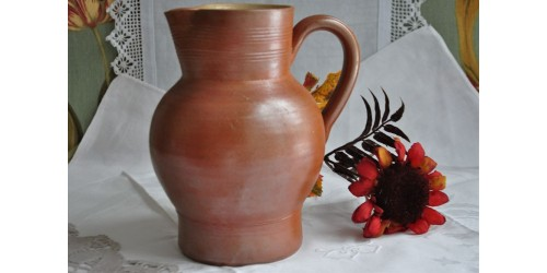 Country Style French Salt Glazed Pitcher