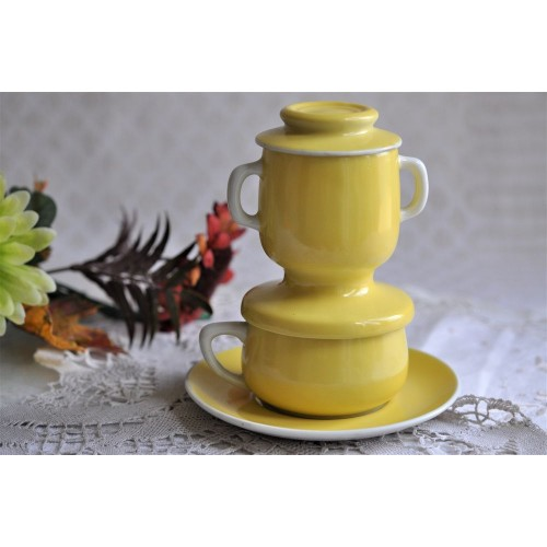 FRG Limoges Porcelain Filter Coffee Cup