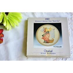 Assiette miniature M. J. Hummel de collection