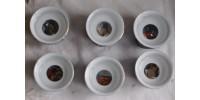 Petits verres à sake Dragonware à motif érotique