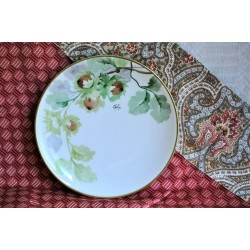 A. Lanternier Limoges Hand Painted Plate