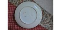 Assiette en porcelaine de Limoges signée Celine