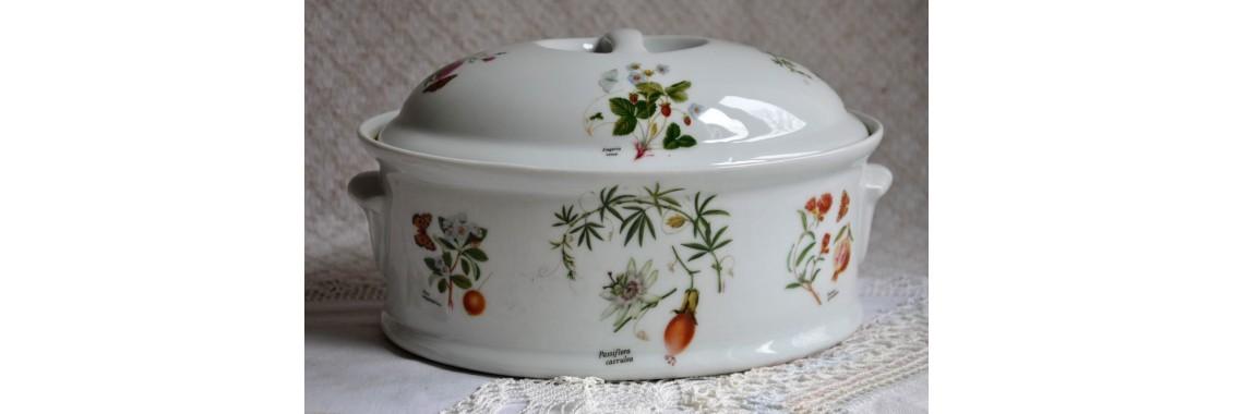 Cocotte en porcelaine Lourioux