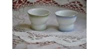 Petits verres à sake japonais à motif érotique