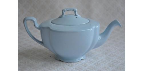 Théière Johnson Bros. bleue pastel en céramique