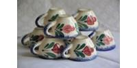 Petites tasses à eau-de-vie de collection