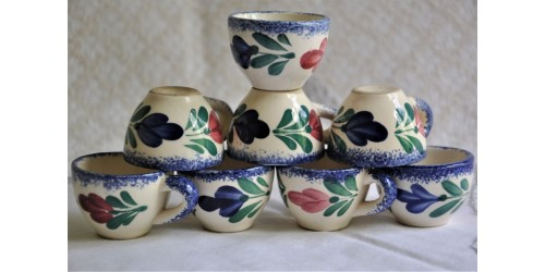 Henriot Quimper Small Liquor Cups