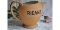 Pichet à eau vintage marqué Ricard