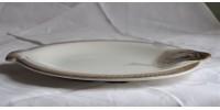 Assiettes à poisson faïence de Longwy 1930