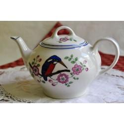 Old SZ & Co Bavaria Porcelain Tea Pot