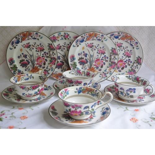 Antique 1894 Wedgwood Tea Set for 4