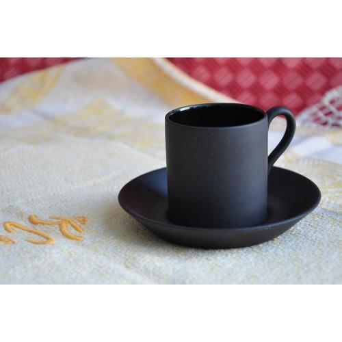 Tasse à expresso Black Basalt de Wedgwood