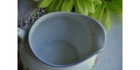 Pot à lait Bavaria ancien avec martin-pêcheur