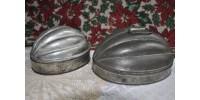 Moules à gelée ou pouding en forme de melon