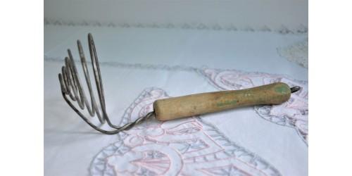 Cuiller en fil de fer pour oeufs à bouillir