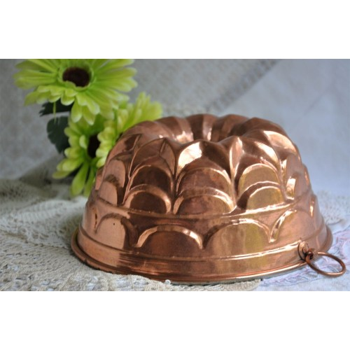 Copper Pudding And Cake Mould