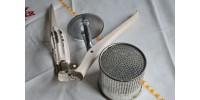 Presse-purée mécanique en métal
