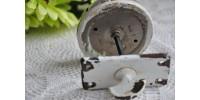 Sonnette de porte mécanique à manivelle