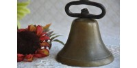 Antique Shopkeeper Solid Brass Bell