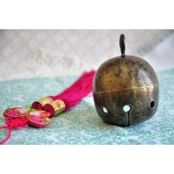Antique Spherical Oriental Crotal Bell