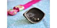 Clochette de table Lady Bell en laiton massif
