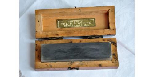 Antique Dentistry Arkansas Sharpening Stone