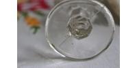 Bain oculaire en verre clair signé G