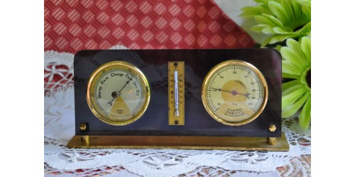 Station météo vintage Fisher Germany