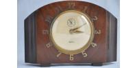 Horloge Royal Ascot Art Déco par Ingraham USA