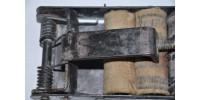 Machine à imprimer à cylindres ancienne pour ligne d'emballage