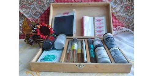 Authentic Vintage Fingerprint Processing Kit