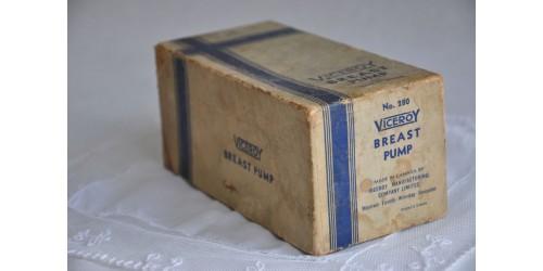 Antique Viceroy Canada Breast Pump in Original Box