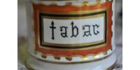 Pot de pharmacie ancien en porcelaine