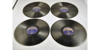 Album de 4 disques Decca 78 tours de Charlie Kunz au piano
